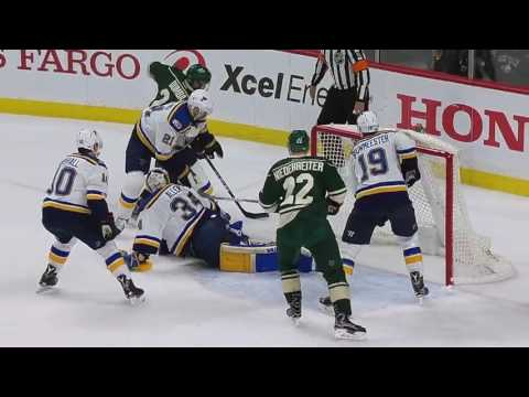 St. Louis Blues vs Minnesota Wild - April 12, 2017 | Game Highlights | NHL 2016/17