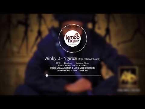 Winky D - Ngirozi (Lyric Video by Lambotique) [GOMBWE]