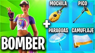 THE BEST SKIN COMBINATIONS WITH THE BEACH BOMBer 🌈 FORTNITE SKIN COMBOS