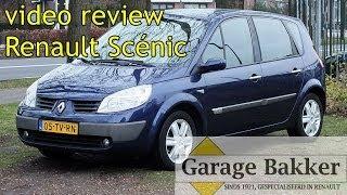 Video review Renault Scénic 1.6 16v Dynamique Comfort, 2005, 05-TV-RN