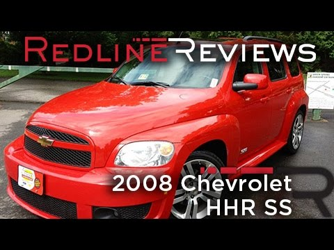 2008 Chevrolet HHR SS Review, Walkaround, Exhaust & Test Drive