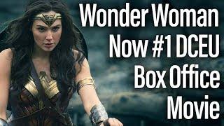 Wonder Woman Passes Batman V Superman For #1 DCEU Box Office Film