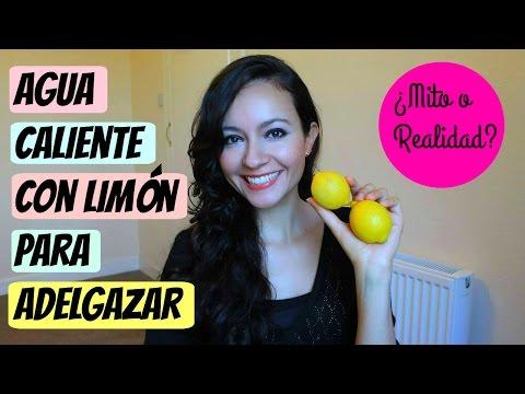 Agua caliente con limón para adelgazar ¿mito o realidad?