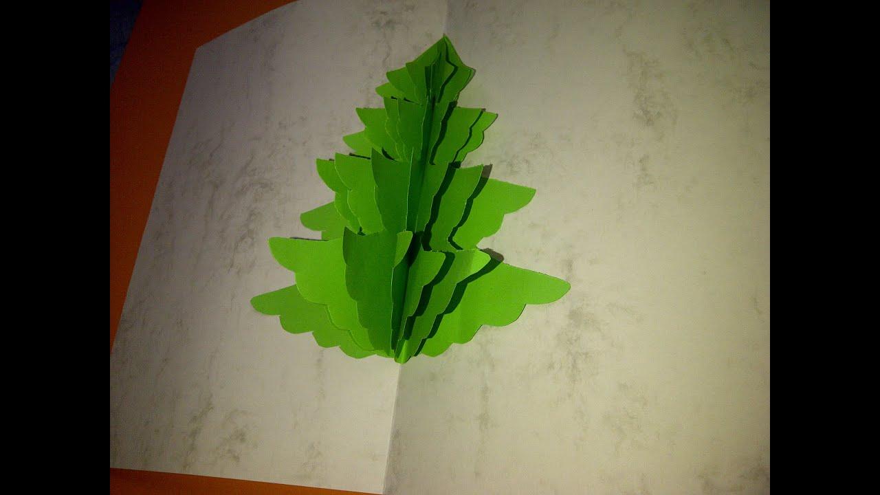 cmo hacer tarjetas de navidad con un rbol en d como fazer um carto pop up de natal