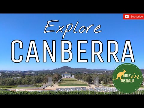 EXPLORING CANBERRA CITY | AUSTRALIAN CAPITAL TERRITORY | GOING AROUND CANBERRA BY BUS | CANBERRA