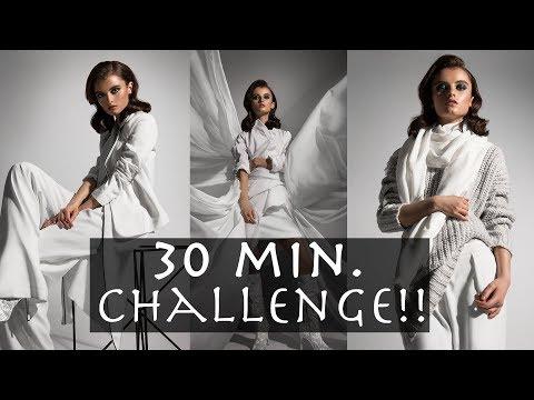 30 Minute Challenge!!! | Fashion Editorial...