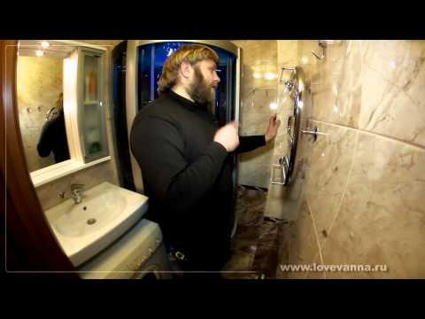 Ремонт раздельного санузла с душевой кабиной и стиральной машинкой в хрущевке. Карпинского 36