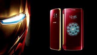 Samsung Galaxy S6/S6 Edge Iron Man Edition