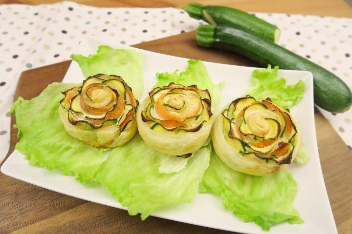 Rose di zucchine e salmone: l'idea saporita e sfiziosa