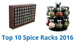 10 Best Spice Racks 2016