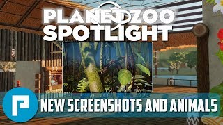 🦁 Planet Zoo Spotlight 14  New Animals Screenshots And In-game Content