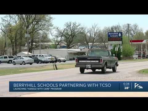 Berryhill Schools Partnering with TCSO: Launching 'Handle With Care' Program