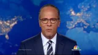 NBC Nightly News: Lester Holt Thanks Brian Williams For His Support