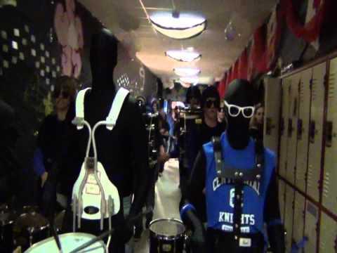 Centennial High School Drumline (Homecoming 2011)