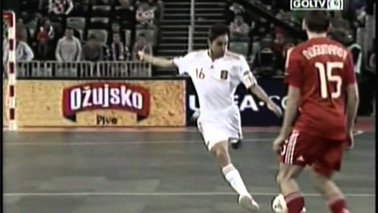 Euro Futsal 2012 Final Spain Vs Russia Youtube