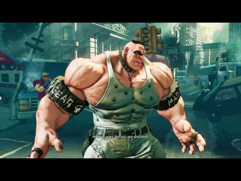Street Fighter 5: Abigail story mode