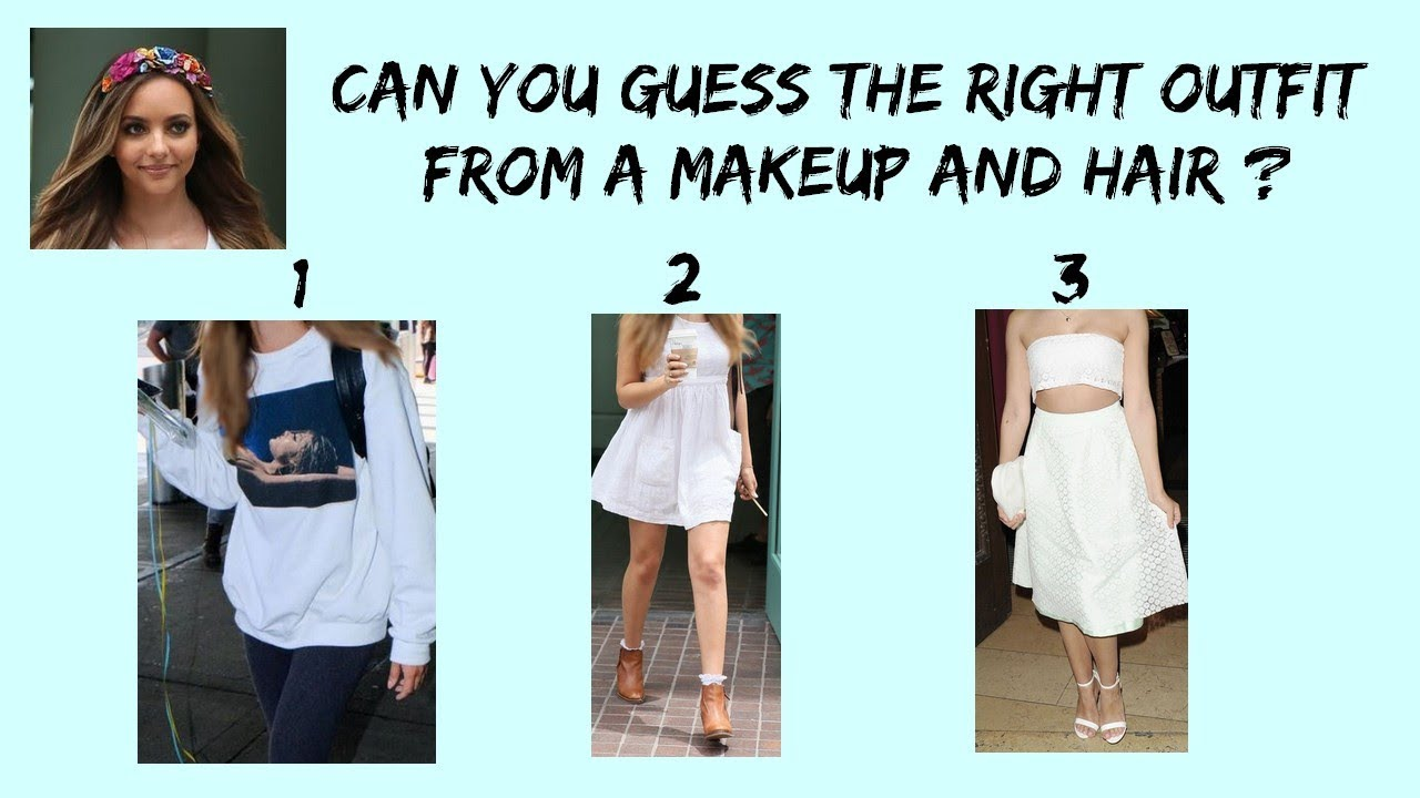 can you guess little mix outfitsa picture of their