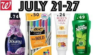 🔥🔥🔥 Walgreens: July 21-27!