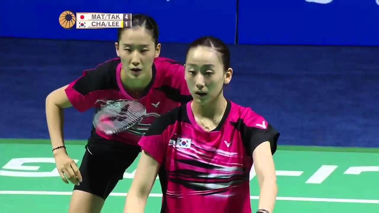 2015 Thaihot China Open SF Misaki Matsutomo Ayaka Takahashi vs