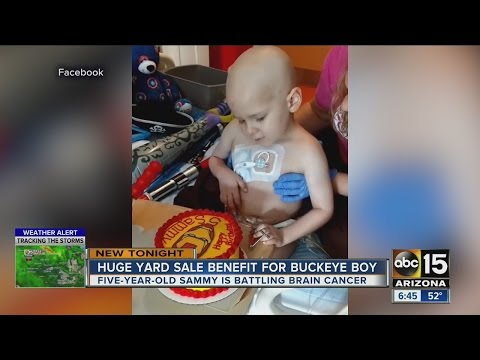 Buckeye community rallies behind boy with cancer