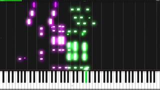 Cantina Band - Star Wars [Piano Tutorial] (Synthesia) // Piano Man