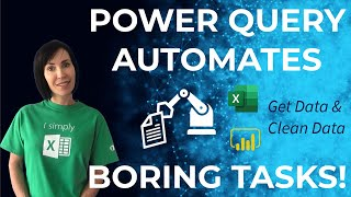 How to easily aut๐mate boring Excel tasks with Power Query!