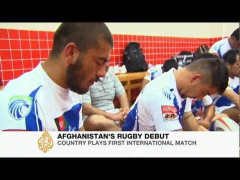 Afghan rugby team makes international debut