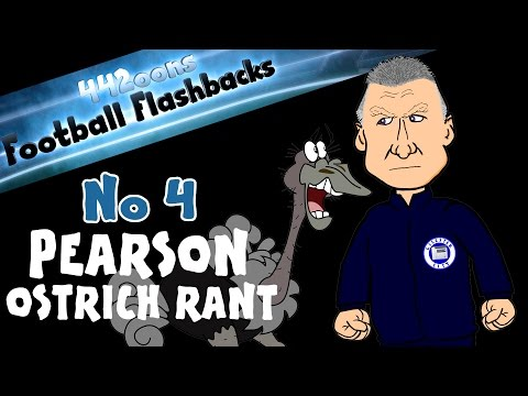 Nigel Pearson Ostrich Rant Football Flashback No 4 (Pearson Press Conference Rant April 2015)