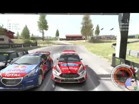 Ford Fiesta RallyCross Ditr rally