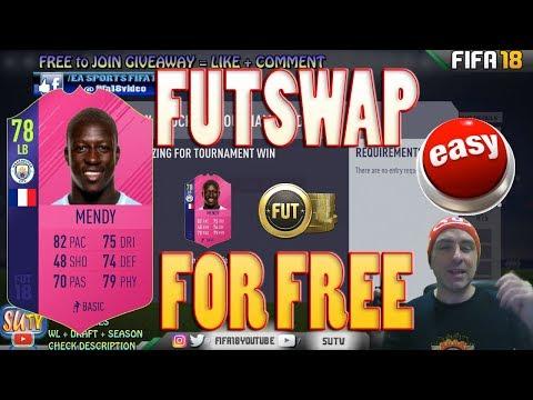 HOW TO GET FREE FUTSWAP MENDY * Fifa 18 Daily Tournament NO LOSS GLITCH Fut Champs