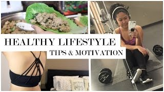 Want to start eating healthier and a workout routine? here i share my best tips for how stay motivated lifestyle an...