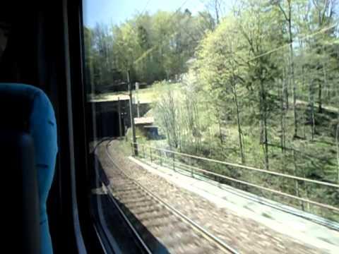 On trains from Ljubljana to Prague