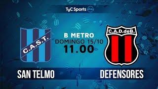 San Telmo vs Defensores Belgrano VR full match