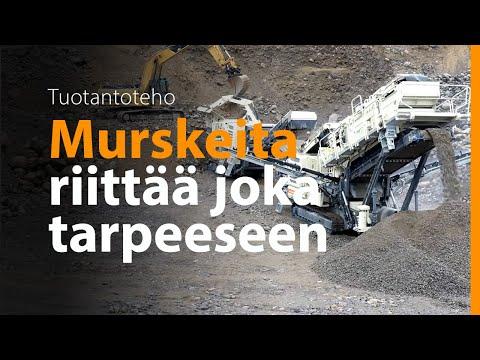 Metso Lokotrack® LT106™ + LT220D™ - Kuljetus ja Kuormaus Judin Oy