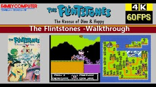 [Famicom] フリントストーンThe Flintstones: The Rescue of Dino & Hoppy -Walkthrough