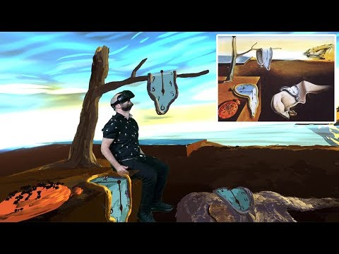 """Salvador Dali's """"The Persistence of Memory"""" in VR 