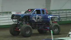 Monster Truck Freestyle Prineville, OR 2017