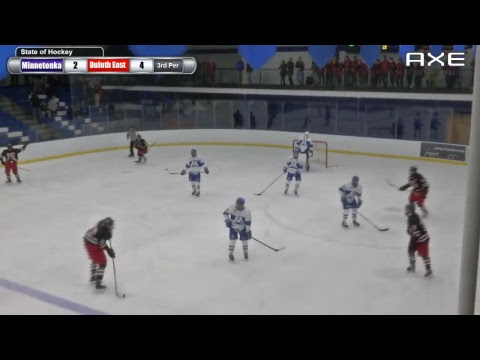 HS Hockey: Duluth East at Minnetonka