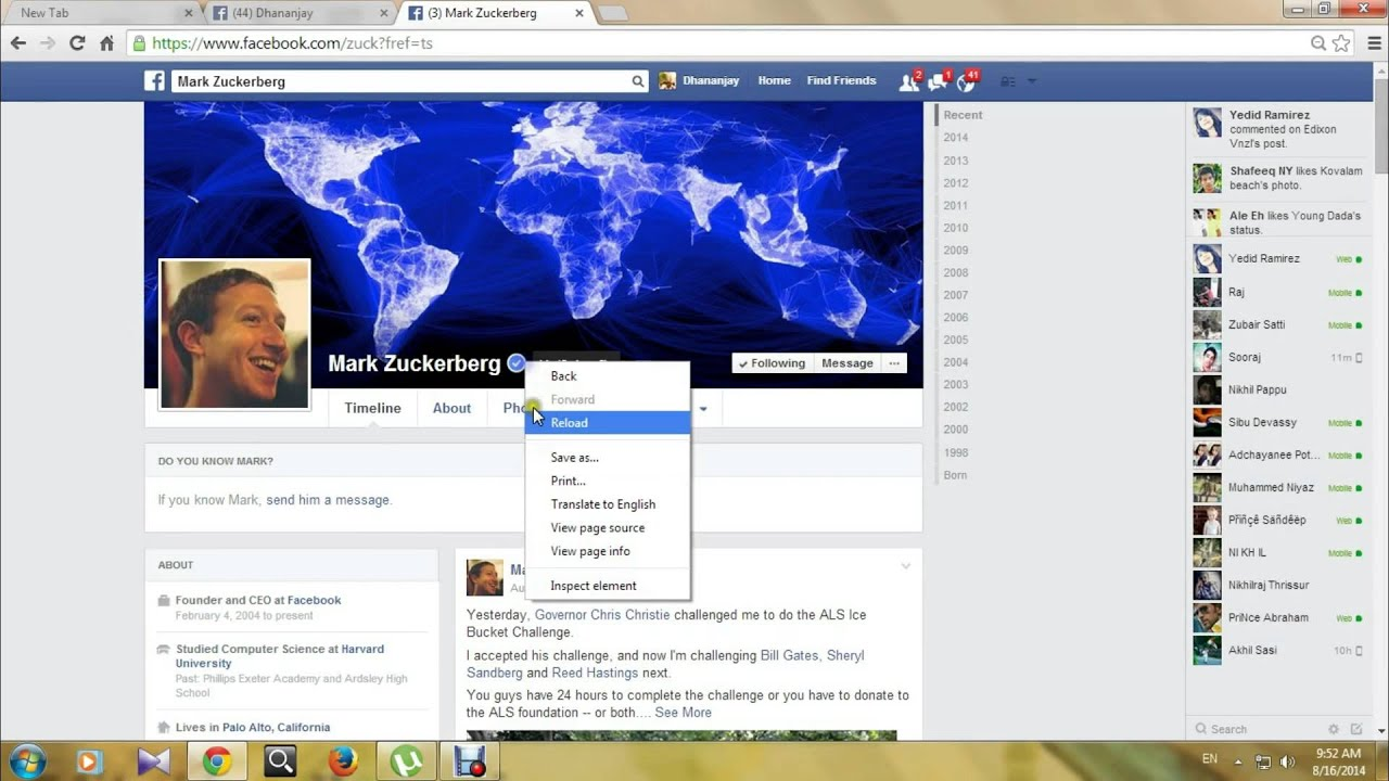 How to verify facebook account . .malayalam tutorial - YouTube