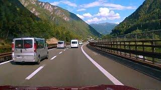Innsbruck - Bolzano, Highway A22/E45