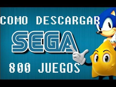 Como Descargar Sega 800 Juegos Youtube