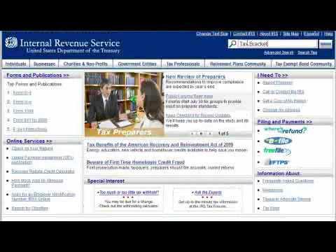 How to Figure Tax Brackets
