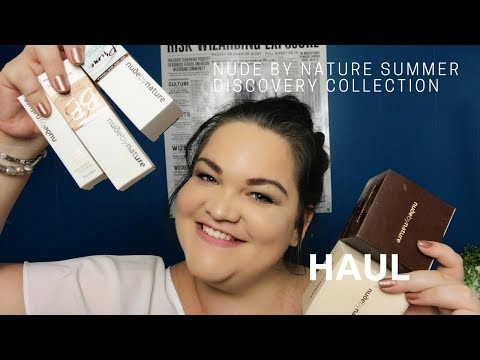 Nude by Nature Summer Discovery Collection Haul