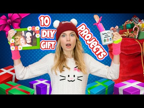 DIY Gift Ideas! 10 DIY Christmas Gifts & Birthday Gifts for