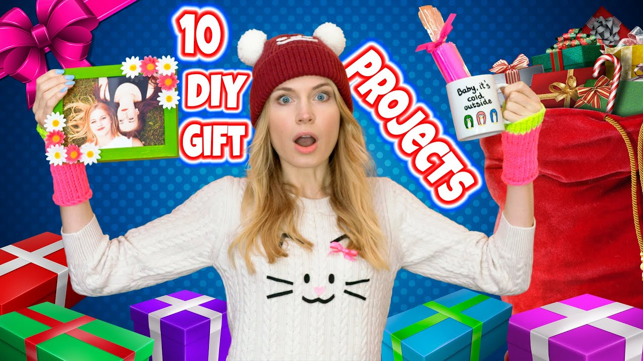 DIY Gift Ideas! 10 DIY Christmas Gifts & Birthday Gifts for Best ...