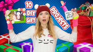 DIY Gifts! In this DIY gift ideas I show 10 DIY Christmas gifts, bi...