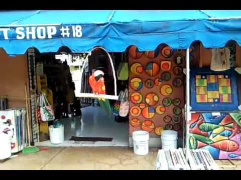 Punta Cana Shop Presents Gift Shops Flea Market Plaza Bavaro Dominican Republic Youtube