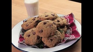 "Breville Presents ""make It Vegan"" Rosemary Chocolate Chip Cookies: Isa Chandra Moskowitz"