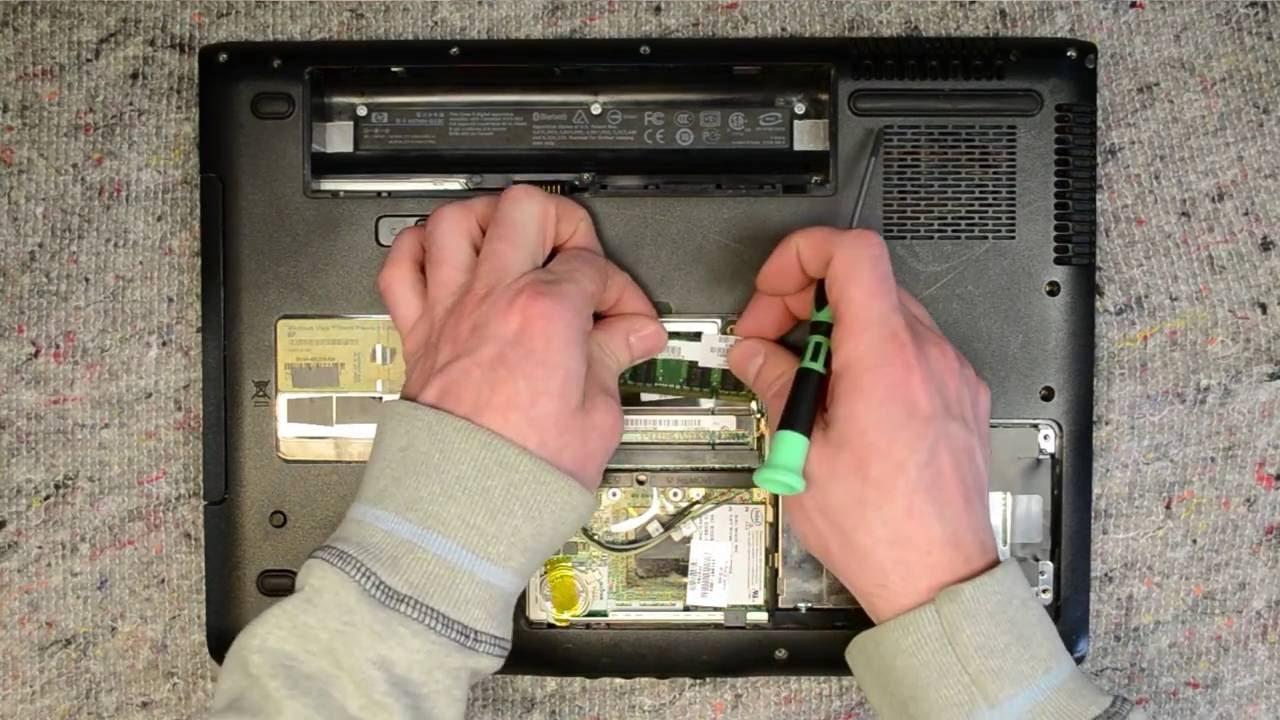 hp pavilion dv6000 laptop disassembly take apart teardown tutorial rh youtube com hp dv6 disassembly instructions hp dv6000 disassembly instructions