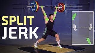 How to SPLIT JERK / Bullet time in weightlifting